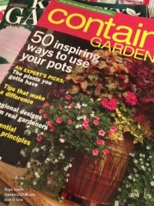My senior mom loves gardening magazines of all kinds including these