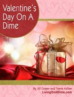 A Valentines Day on a Dime gift eBook for the Sandwich Generation copy