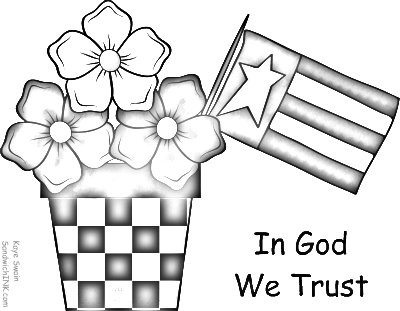 And here is this cute country clipart turned into a coloring page for our Sandwich Generation families
