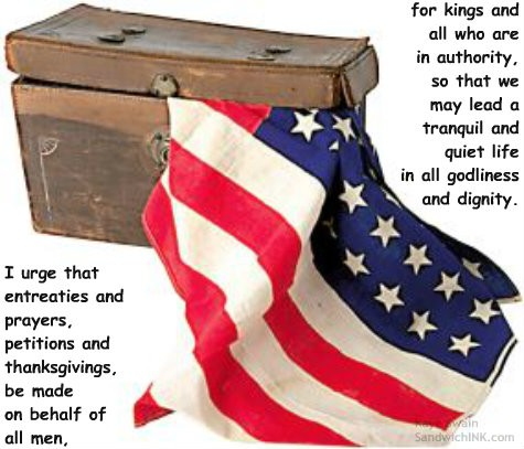 Encouraging Bible memory verses for all ages of the Sandwich Generation to apply on patriotic holidays and thru the year