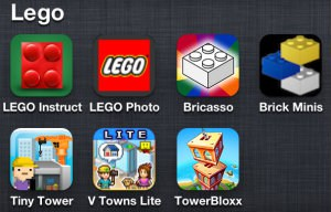 The grandkids in my Sandwich Generation family all love LEGOs along with these fun kids iPhone apps
