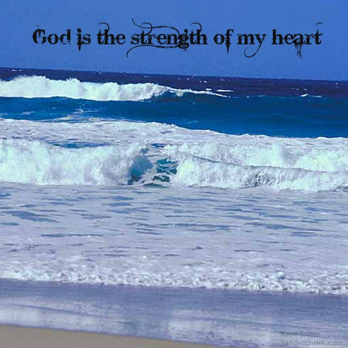 When the waves of life are ramping up - thats the time to tuck comforting Bible verses deeper into our hearts