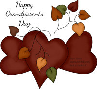 Happy Grandparents Day - we love you very much