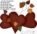 Love the Lord - coloring pages for Halloween trick or treaters and our grandchildren SI