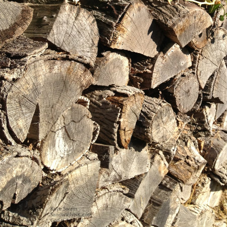 The summer flowers are fading and the woodpile is growing autumn bliss is giving way to winter wonders