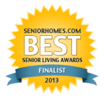SandwichINK for the Sandwich Generation is a finalist in the SeniorHomes 2013 Best Senior Living Awards - in the category of Best Boomer Resources