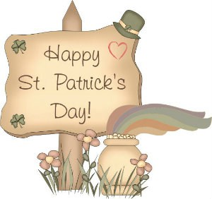 Happy St Patricks Day to the Sandwich Generation multigenerational caregivers