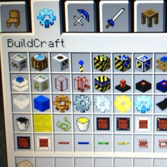 My grandkids love the extra tools for building in Minecraft - I think the pink things are pretty cool