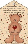 A valentine bookmark for young and old -Have a blessed Valentines Day