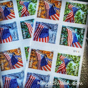 A big help to a busy REALTOR and caregiver are the stamps available at Walgreens and grocery stores in Washington and California