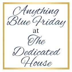 Kaye Swain Writer and Realtor loves to visit Anything Blue Friday at the Dedicated House