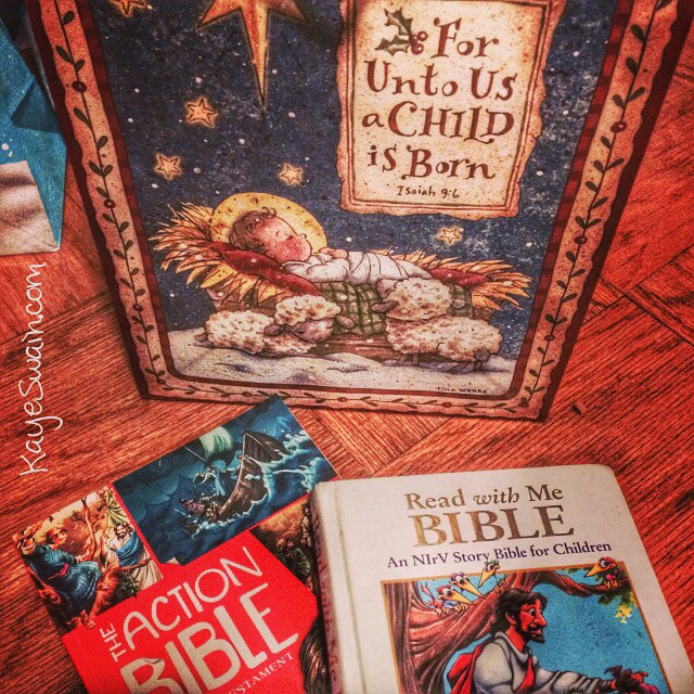 Kaye Swain loves reading Bible books and Bible memory verses to the grandkids-Kaye Swain Roseville CA REALTOR