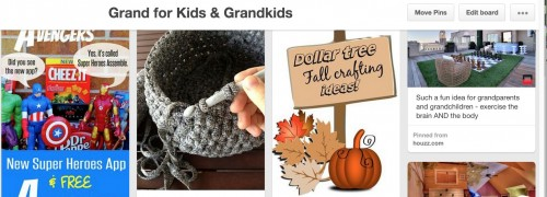 Grand ideas at Pinterest for kids and grandkids via Sacramento area REALTOR Kaye Swain