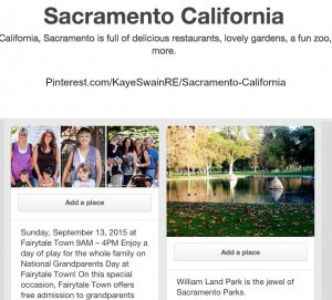Follow KayeSwainRE at Pinterest for all sorts of great resources for the Roseville Sacramento area and beyond