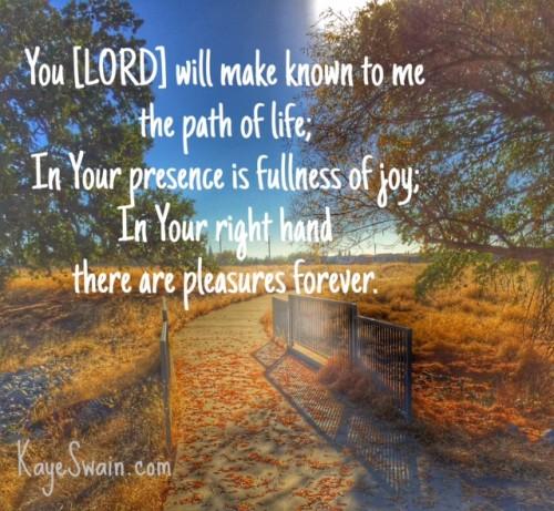 Christian words of encouragement via Kaye Swain Roseville CA