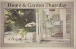 Kaye Swain Roseville CA Caregiver and real estate agent and blogger visiting at Home and Garden Thursday at A Delightsome Life blog