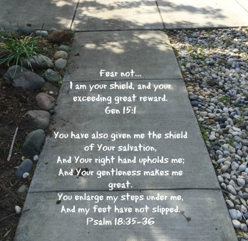 Sweet words of encouragement from God Almighty to His beloved