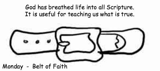 Monday BELT OF FAITH Breakaway