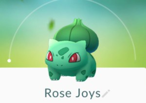 Rose Joys Kaye Swain Roseville REALTOR Pokemon Go Critter smiles