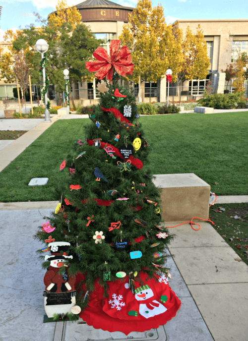 Kaye Swain Roseville real estate agent sharing Roseville California Joys Christmas Grove Tree