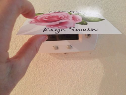 Thermostat options for senior mom Kaye Swain Roseville Real Estate Agent