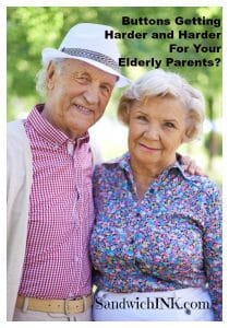 Easy Clothing for Our Elderly Parents With Magnetic Buttons