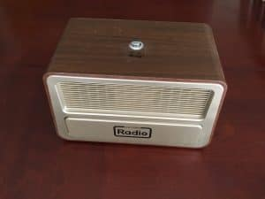 If you are caring elderly parents dementia a One button radio may be helpful