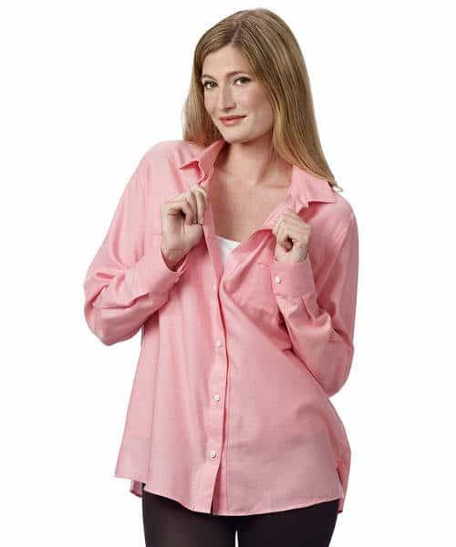 Lovely easy clothes for beloved elderly woman with magnetic buttons