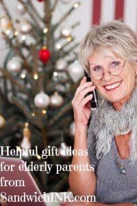 Helpful gift ideas for elderly parents