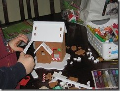 Gingerbread houses even those with food allergies can enjoy