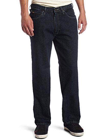 Mens Elastic Waist Jeans No Zipper