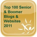 SandwichINK for the Sandwich Generation is on the Seniors For Living Top 100 Blogs and Websites 2011 - What a blessing 125