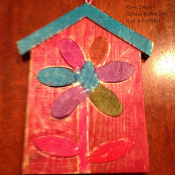 Christmas in july means crafty fun for grandparents and for Simple crafts for seniors