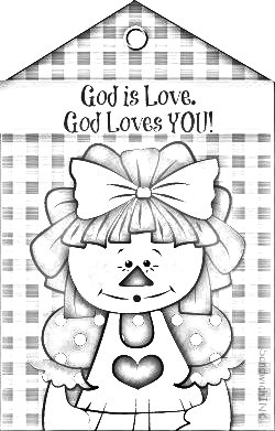 Holiday fun with the whole family from grandkids to for God loves me coloring page