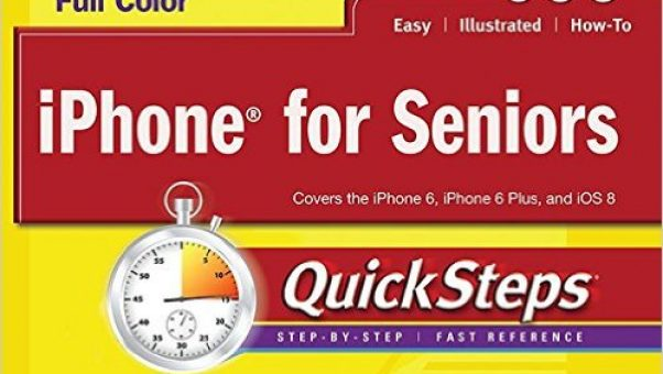 Computer and smart phone books for seniors