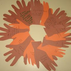 Thanksgiving project with grandkids via Kaye Swain Roseville CA real estate agent blogger
