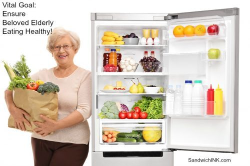 Elderly Eating Healthy vital