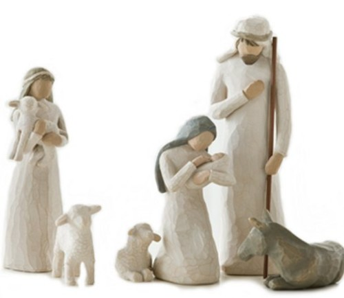 Kaye Swain real estate agent blogger Willow Tree nativity set