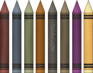 washable crayons are great for fun activities for grandparents and grandchildren