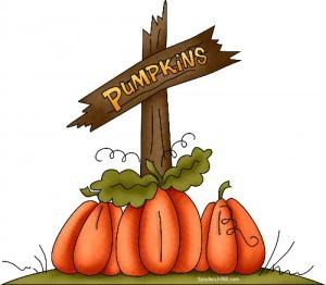 I love Trinas Happy Halloween - autumn - and pumpkin clip art