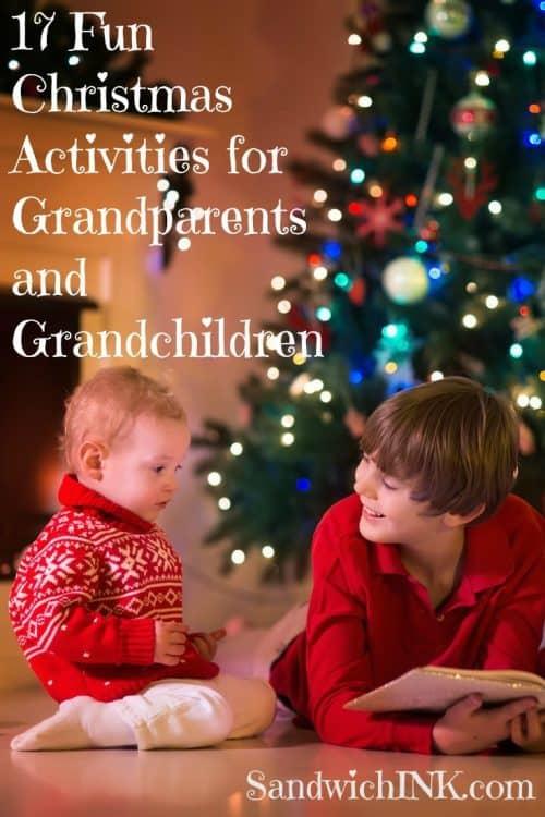 17 Christmas activities Grandparents Grandchildren