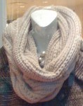 I love a knit hooded cowl scarf - they make such delightful knitted neck and face warmers