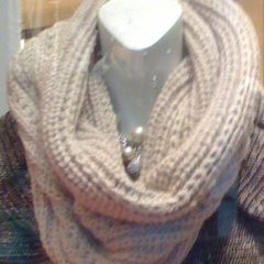 I love a hooded cowl scarf - they make such delightful knitted neck warmers