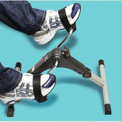 A mini exercise bike can be good winter exercise news for the Baby Boomers generation and their beloved seniors