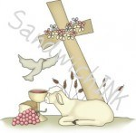 Christian Easter clipart and crafts are great resources for granny nannies