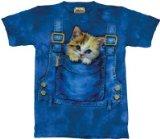 adorable animal print t shirt cat