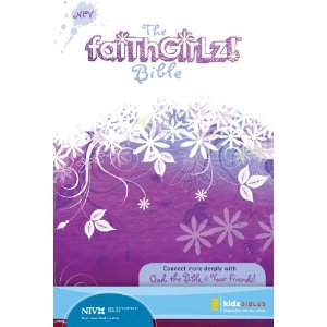 The cute FaithGirlz Bible is full of encouraging Bible verses and useful information for girls