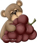 This beary cute fruit of the Spirit clip art is to help us remember that Love and Patience are also fruits of the Spirit