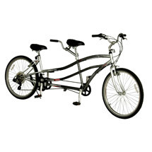 A patient with Parkinsons Disease symptoms may be able to ride a tandem cruiser bicycle