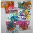 a variety of silly bandz - rubber band bracelets